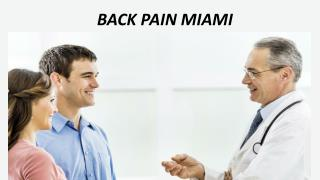 Back Pain Miami