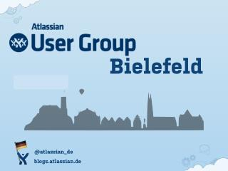 Atlassian User Group Bielefeld