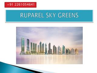 ruparel project in kandivali west