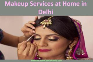 Makeup Services at Home in Delhi