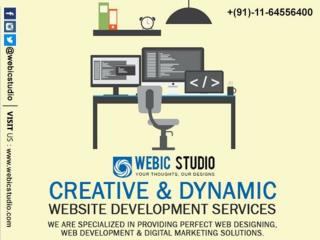 Why Create Dynamic Website - Webic Studio - 011-64556400