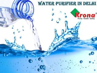 "Kronaglobal- Best ""aqua bliss"" Water purifier online at best price in Delhi"