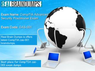 CompTIA CAS-001 Sample Questions Answers
