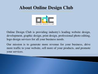 Custom Website Design and Development Services