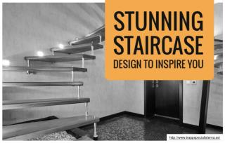 Three brilliant ways to decorate your staircase