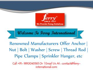 Washer Manufacturers