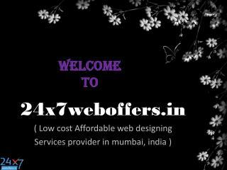 Low cost web designing in Mumbai ,India
