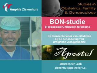 BON-studie Bloedspiegel Onderzoek Nifedipine