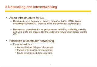 3 Networking and Internetworking