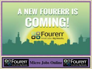 Micro Jobs Online
