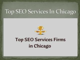 Top SEO Services In Chicago