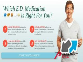 Overcome Weak Erection Trouble With ED Medications
