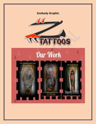 Choosing a Safe Tattoo Studio In Chandigarh – zeebodygraphic