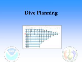 Dive Planning