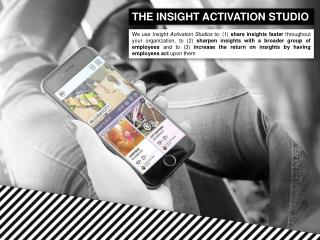 Insight Activation Studio: an introduction