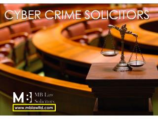 Cyber Crime Solicitors London