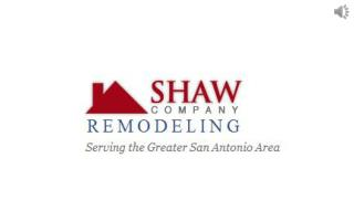 The Best Of Outdoor Living Comes From Shaw Company