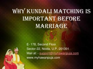Important Points About Kundali - Before Having Marriage