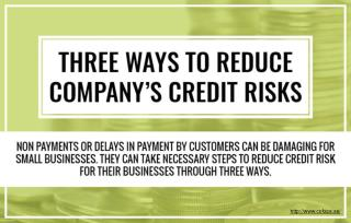 How to take necessary steps to reduce credit risks?