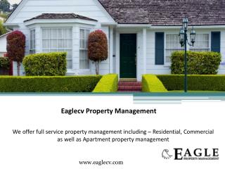 Residential & Commercial Property Management - Eaglecv