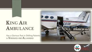 King Air Ambulance Services in Varanasi – Fastest Air Medical Transport