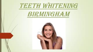 Teeth Whitening Birmingham - Coventryroaddentalpractice.com