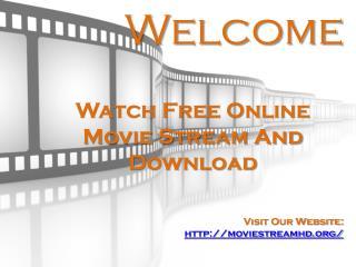 Free Online Movie Stream