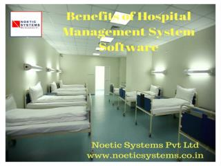 Benefits of Hospital Management system Software