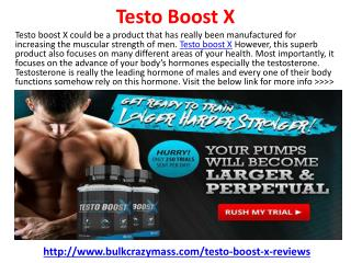 Testo Boost X Reviews, Price and Free Trial
