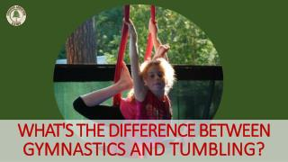 Whats The Difference Between Gymnastics And Tumbling