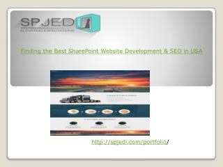 Finding the Best SharePoint Website Development & SEO in USA