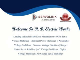 Servo Voltage Stabilizer In Noida