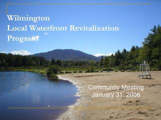 Wilmington  Local Waterfront Revitalization Program