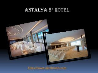 Hotel antalya booking