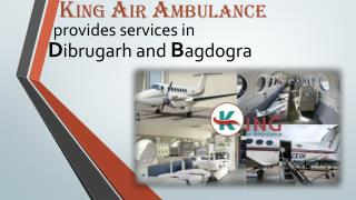 Get Emergency Air Ambulance Services in Dibrugarh – Fastest Air Medical Transport
