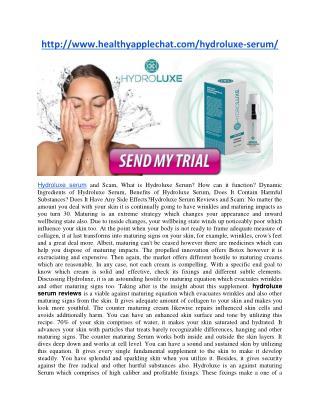 http://www.healthyapplechat.com/hydroluxe-serum/