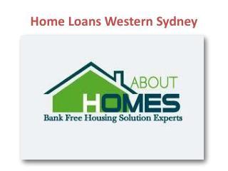 Home Loans Western Sydney