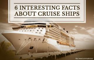 Fun facts about cruises you should know