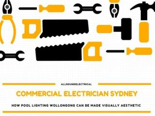 How Pool Lighting Wollongong Can Be Made Visually Aesthetic