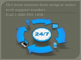 Get Solution for Netgear Problems Call 1-888-959-1458