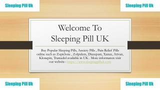 Tramadol Online UK - Sleeping Pills UK