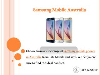 Samsung Mobile Australia
