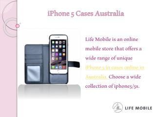 iPhone 5 Cases Australia