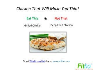 Easy Healthy Food Alternatives | Fitho
