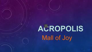 Malls at Kolkata - Acropolis Mall