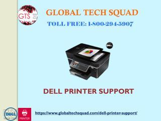 Dell Printer Technical Support I USA: 1-800-294-5907