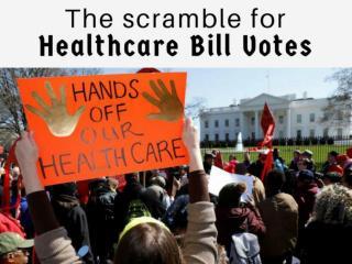 The scramble for healthcare bill votes