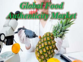 Global Food Authenticity Market