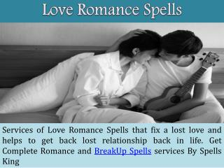 Love Romance Spells