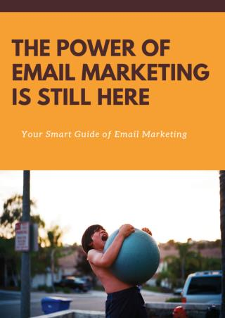 The Power Of Email Marketing is Still Here